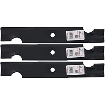 Amazon.com : USA Mower Blades U10061BP (3) Standard High ...