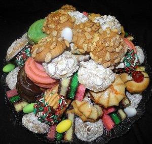 Italian Cookies 2 LB Cookie Tray