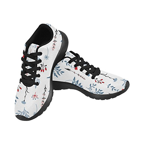 InterestPrint Womens Jogging Running Sneaker Lightweight Go Easy Walking Comfort Sports Athletic Shoes Multi 10
