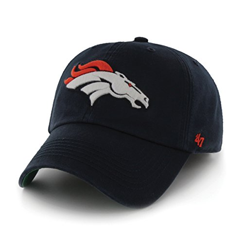 NFL Denver Broncos '47 Franchise Fitted Hat, Navy, Large