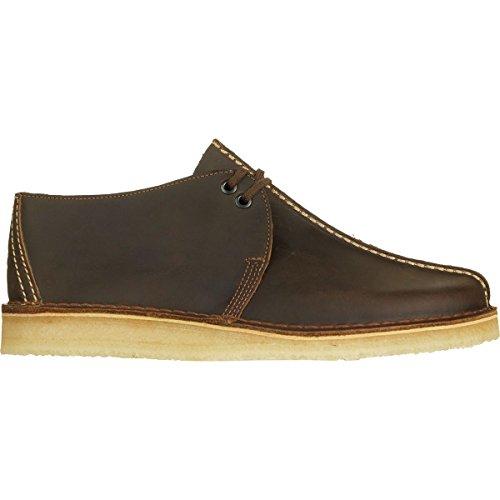 CLARKS Men's Desert Trek Moccasin, Beeswax Leather, 12 Medium US Clarks Moccasin