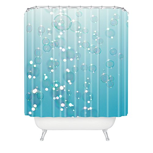 Deny Designs 71 by 74-Inch Bree Madden Bubbles in The Sky Shower Curtain, Standard (Bree Bubbles)