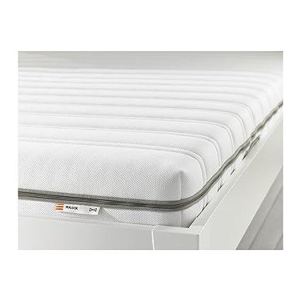 IKEA MALVIK - Colchón de espuma, firme, blanca