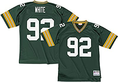 Green Bay Packers Mitchell & Ness 1996 Reggie White #92 Replica Throwback Jersey