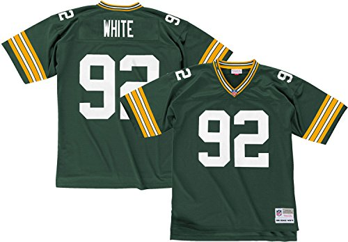 Green Bay Packers Mitchell & Ness 1996 Reggie White #92 Replica Throwback Jersey (Green Throwback Jersey)