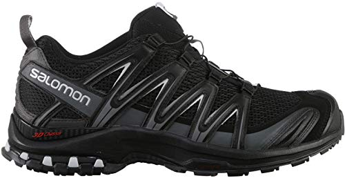 Salomon Men's XA Pro 3D Trail Running Shoes, black, 10.5 M US (Salomon Mens Xa Pro 3d Trail Running Shoe)