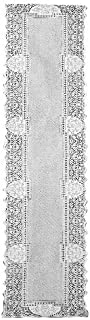 product image for Heritage Lace Canterbury Classic 14-Inch by 72-Inch Runner, Ecru