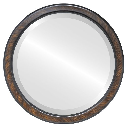 Decorative Mirror for Wall | Framed Round Beveled Wall Mirror | Toronto -