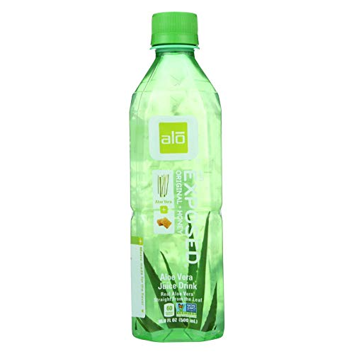 - Alo Original Exposed Aloe Vera Drink, 16.9 Ounce - 12 per case.