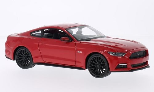 ford-mustang-gt-red-2015-model-car-ready-made-maisto-124