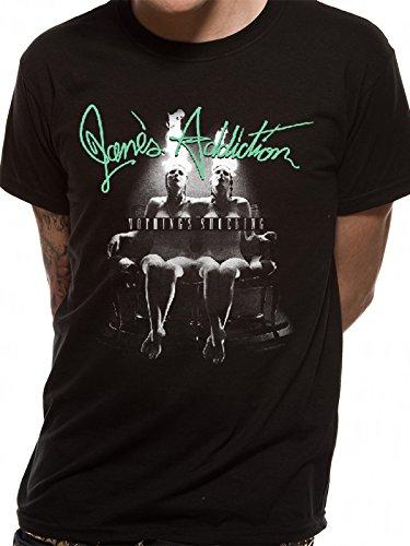 CID Merch Large Unisex Jane's Addiction - Nothing Shocking T-shirt