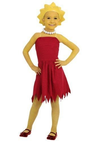 Child Lisa Simpson Costume Medium -