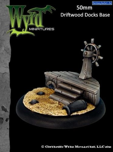 Wyrd Miniatures 50mm Driftwood Docks Model Kit