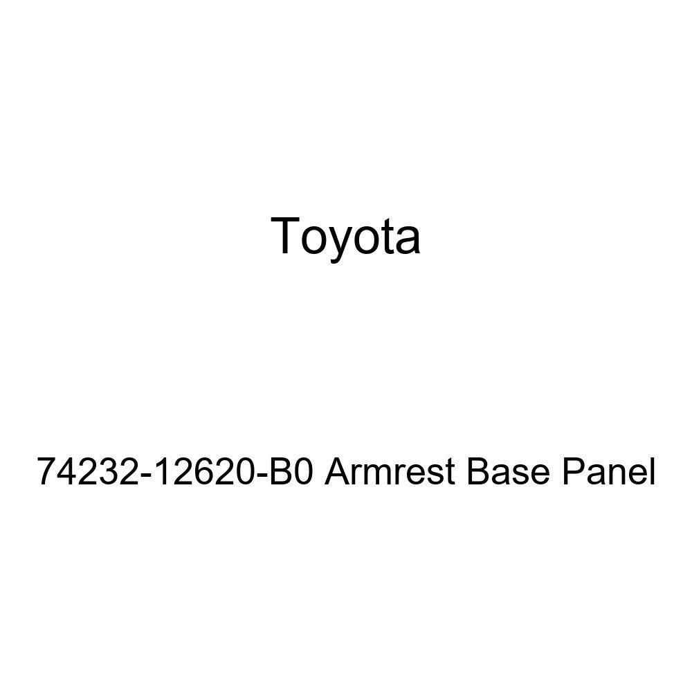 TOYOTA Genuine 74232-12620-B0 Armrest Base Panel