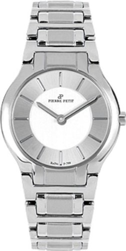 Pierre Petit Women's P-799F Serie Laval Stainless-Steel Bracelet Watch