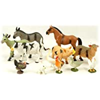 (1, Original Packaging) - Peterkin 12pc Farm Animal Set