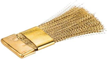 FRCOLOR Nagelboor reinigingsborstel koperdraad borstel nagel boormachine reiniger draadborstel elektrische nagelverzorging manicure pedicure boor accessoires reinigingsgereedschap
