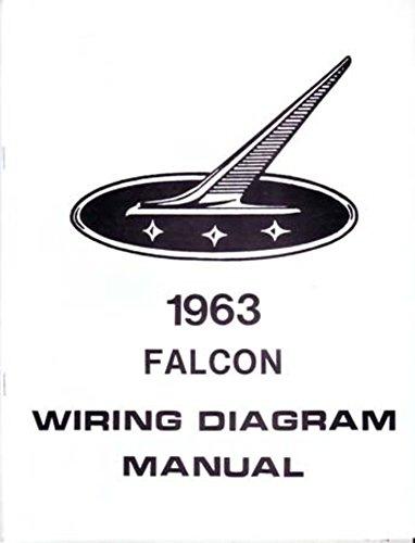 Oem Electrical Wiring Diagram (bishko automotive literature 1963 Ford Falcon Electrical Wiring Diagrams Schematics Manual Book Factory OEM)