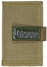 Maxpedition Gear Urban Wallet, Khaki from Maxpedition