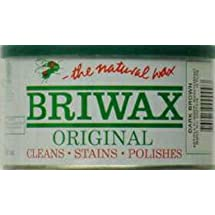 Briwax (Dark Brown) Furniture Wax Polish, Cleans, stains, and polishes.