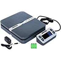 Accuteck ShipPro 110lbs x 0.1 oz. Digital Shipping Postal Scale, Gray (W-8580-110-Gray)