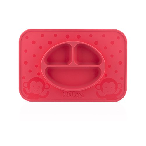 Nuby Sure Grip Miracle Mat, Red
