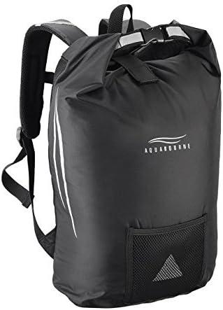 Aquabourne San Remo Waterproof Lightweight Cycling DRY Bag Backpack Black