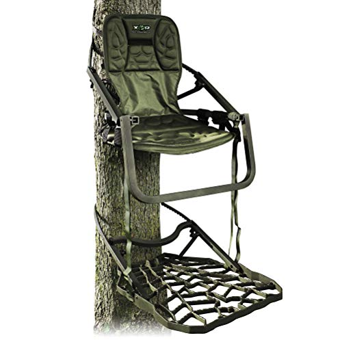 Xtreme Outdoor Products XOP Ambush - Aluminum Climbing Tree Stands for Hunting, Extra Large