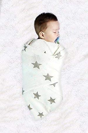 Amazon.com: Manta de muselina para bebé   manta de muselina ...