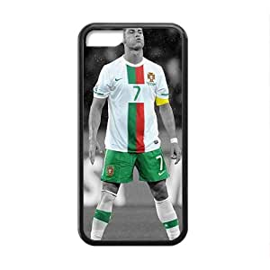 QQQO Soccer Portugal Cristiano Ronaldo Black Phone Case for Iphone 5c
