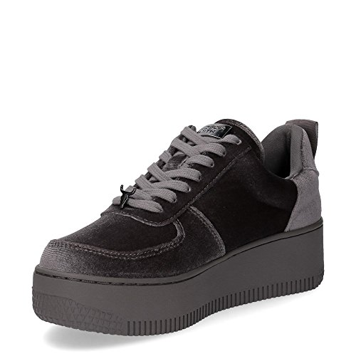 Smith Windsor Collo Alto Sneaker Donna a Grigio Racerr Velvet OqBxdrwpq