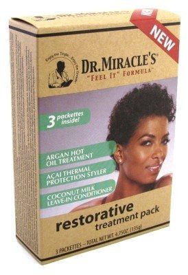 Dr. Miracle's Restorative Treatment Pack, 3 Count