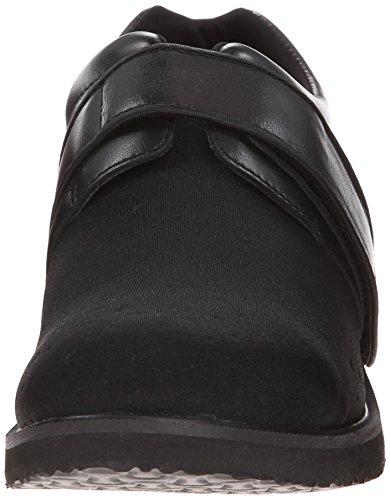 Propet Kvinders Pedwalker 3 Velcro Komfort Sko Sort Glat Onbh76A4
