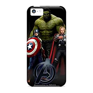 Shock Absorption Hard Phone Cover For Iphone 5c (QeY17891pSvj) Support Personal Customs Attractive U2 Pattern