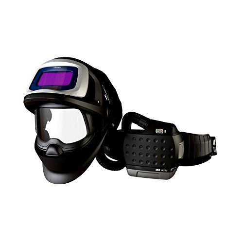 Image of 3M 00051141561578 Adflo 36-1101-20SW PAPR with Speedglass Welding Helmet, 9100 FX-Air and 9100X ADF, Standard, Black/Purple Home Improvements