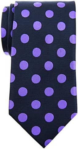Retreez Classy Vintage Polka Dots Woven Microfiber 3.15