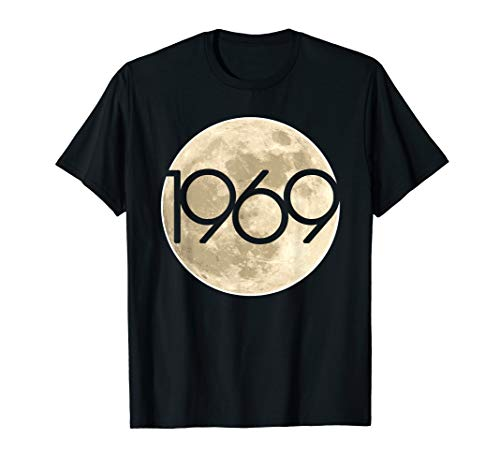 - 50th Anniversary Apollo 11 1969 Moon Landing T-Shirt