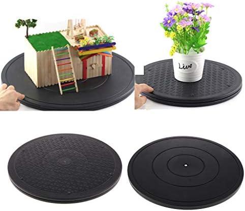 丸形 回転台 ターンテーブル 360回転 陶芸ツール モニター用 テレビ 植物置き 直径30CM