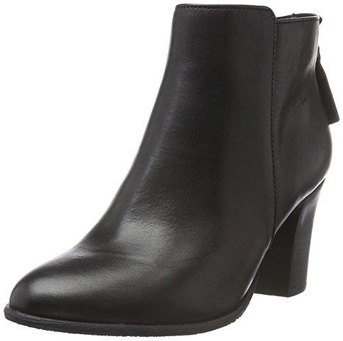 SPM Calvin Ankle Boot, Zapatillas de Estar por Casa para Mujer Negro - negro