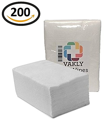 Vakly Dry Wipes Cleansing Cloths (200) ()