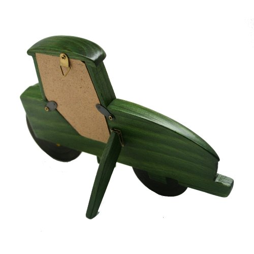 John Deere Wooden Tractor Picture Frame Home Decor