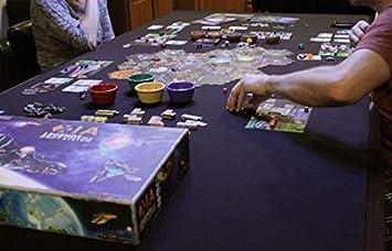 Alfombrilla Grande de Neopreno para Juegos de Mesa, 5 mm de Grosor, Colores sólidos, para Juegos de Mesa, D&D, RPG, Juegos de Cartas, Big Viking Mats, Burgundy, 5-Piece Dining Table: Amazon.es: Juguetes