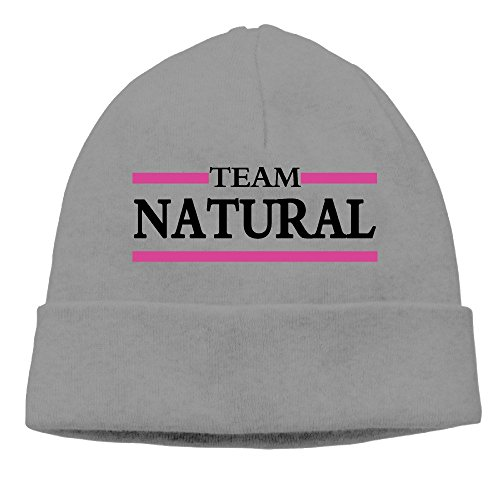 Mens Womens Team Natural Quotes Slouch Beanie Skull Caps