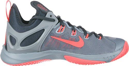 Nike Zoom Hyperrev 2015 Zapatillas de baloncesto, Hombre dove grey/classic charcoal/hot lava