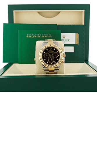 Rolex-Cosmograph-Daytona-Black-Dial-Gold-And-Steel-Mens-Watch-116503