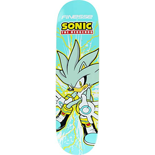 Finesse Skateboards Sega Silver Hedgehog Skateboard Deck - 8