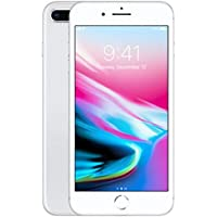 Apple iPhone 8 Plus with FaceTime - 64GB, 4G LTE, Silver (8Plus)
