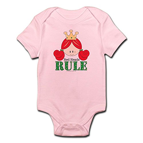 Redhead Infant Diaper (CafePress Red Heads Rule White Infant Bodysuit Onesie - Cute Infant Bodysuit Baby Romper)