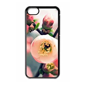 YCHZH Phone case Of Gorgeous peach Cover Case For Iphone 5C