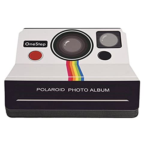 Polaroid Vintage Camera Scrapbook Photo Album For 2x3 Photo Paper Projects (Snap, Zip, Z2300)